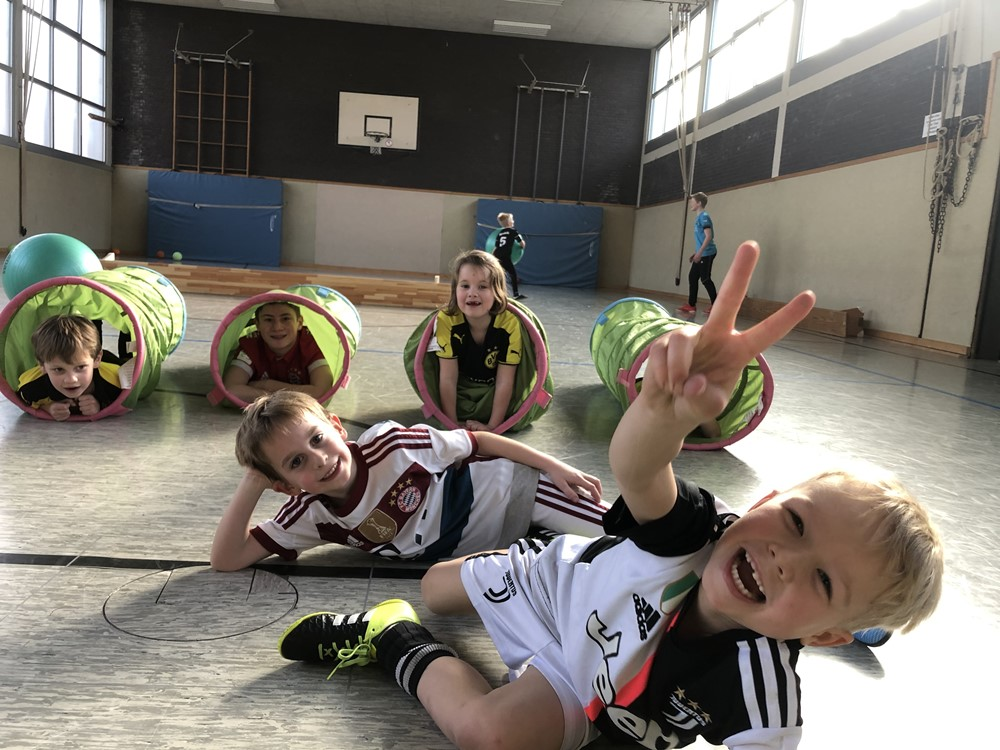 Mini Kicker - G1 Spaß Training - Super Stimmung